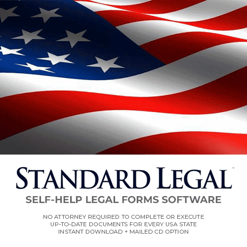 Standard Legal Self-Help Legal Forms Software