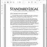 Standard Legal Survivorship Deed Instructions sample