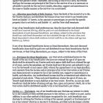 Standard Legal Living Trust sample pg2