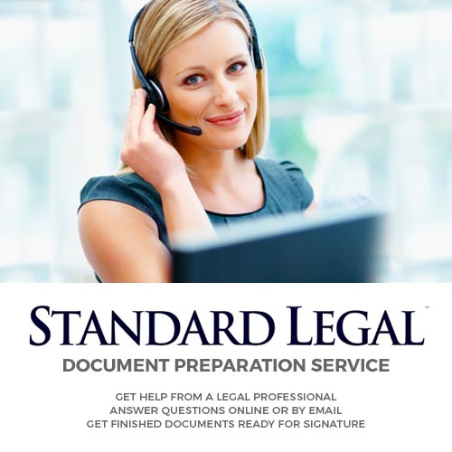 Document Preparation Service by Standard Legal