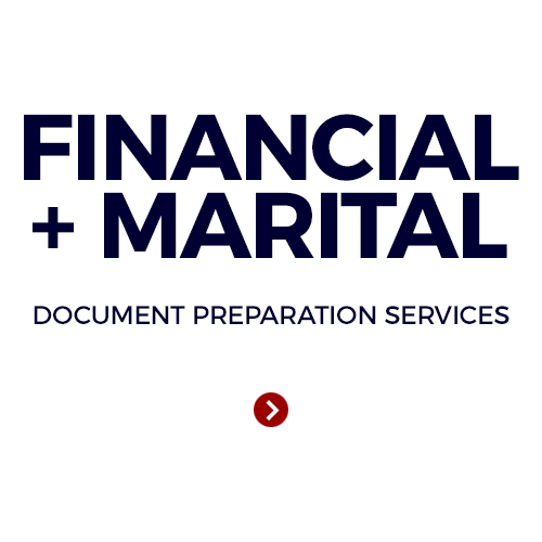 Financial + Marital Doc Prep